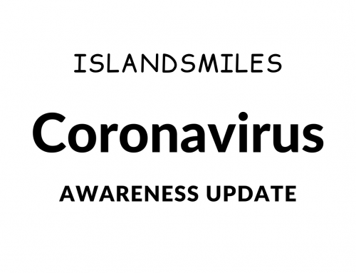 Islandsmiles Coronavirus Awareness March
